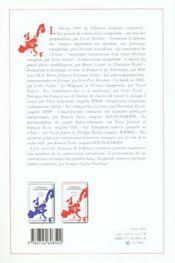 L'opinion européenne 2001 - 4ème de couverture - Format classique