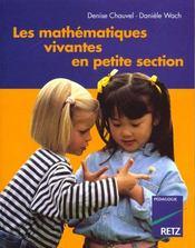 Maths Vivantes En Ps - Intérieur - Format classique
