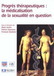Progres therapeutiques medicalisation sex - Intérieur - Format classique