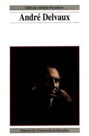 Andre Delvaux - Couverture - Format classique
