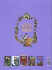 Toto l'ornithorynque t.5 ; Toto l'ornithorynque et les soeurs cristallines - 4ème de couverture - Format classique