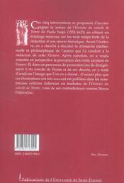 Autour Du Concile De Trente - 4ème de couverture - Format classique