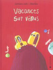 Vacances sur Vénus - Intérieur - Format classique