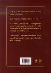 Le fil d'or des chakras - 4ème de couverture - Format classique
