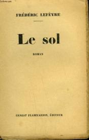 Le Sol. - Couverture - Format classique