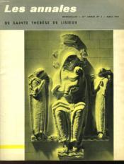 Les Annales De Sainte Therese De Lisieux - N°3 - Couverture - Format classique