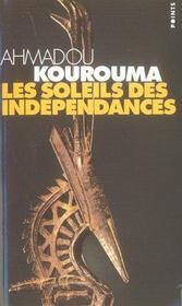 Les soleils des indépendances - Intérieur - Format classique