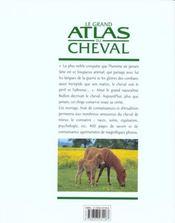 Le Grand Atlas Du Cheval - 4ème de couverture - Format classique