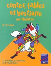Contes, fables et bestiaires au théâtre - Couverture - Format classique