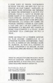 Pierre qui roule - 4ème de couverture - Format classique
