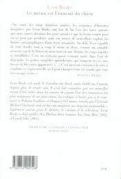 Le Mieux Est L'Ennemi Du Chien - 4ème de couverture - Format classique