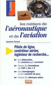 Metiers De L'Aeronautique Et De L'Aviation (Les) - Intérieur - Format classique