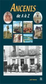 Ancenis de A à Z - Couverture - Format classique