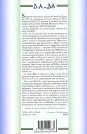 Islamisme - 4ème de couverture - Format classique