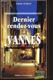 Dernier Rendez-Vous A Vannes - Couverture - Format classique
