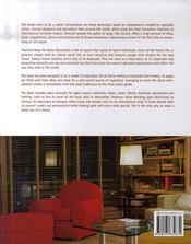 Practical ideas for home decoration. idées pratiques pour la décoration de la maison - 4ème de couverture - Format classique