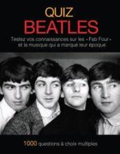 Quiz Beatles - Couverture - Format classique