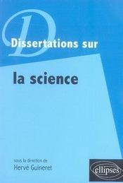 Dissertations sur la science - Intérieur - Format classique