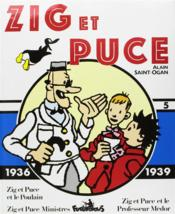 Zig et Puce t.5 ; 1936-1936 - Couverture - Format classique