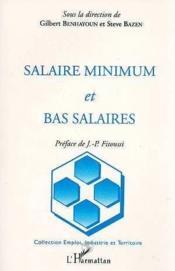 Salaire Minimum Et Bas Salaires - Couverture - Format classique