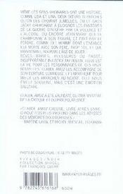 Racines amères - 4ème de couverture - Format classique