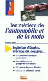 Les metiers t.282 ; auto et moto - Intérieur - Format classique