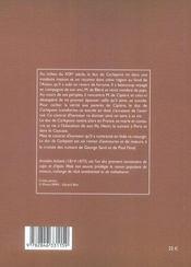 Le duc de carlepont - 4ème de couverture - Format classique