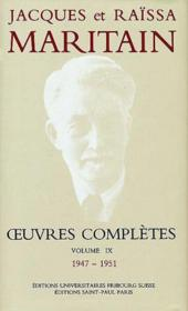 Oeuvres Completes Maritain Ii - Couverture - Format classique