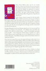 L'Art Est Vivant - 4ème de couverture - Format classique