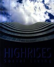 Highrises social living. (nouveaux logements sociaux) - Intérieur - Format classique