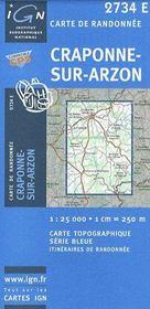 Craponne-sur-Arzon - Couverture - Format classique