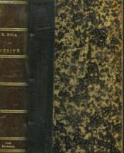 Les Quatres Evangiles. Verite. - Couverture - Format classique