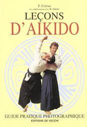 Lecons D'Aikido - Intérieur - Format classique