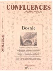 Confluences Mediterranee N°13 1995 Bosnie - Couverture - Format classique
