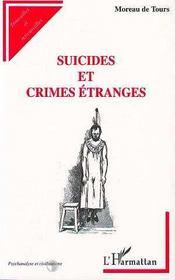 Suicides et crimes étranges - Intérieur - Format classique