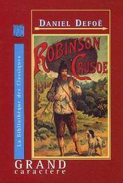 Robinson Crusoé - Couverture - Format classique