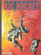 Ric Hochet ; intégrale t.6 - Intérieur - Format classique