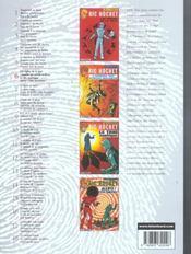 Ric Hochet ; intégrale t.6 - 4ème de couverture - Format classique