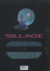 Sillage t.5 - 4ème de couverture - Format classique