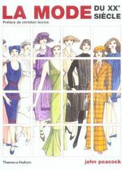 La mode du XX siècle - Intérieur - Format classique