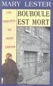 Mary Lester T.28 ; Bouboule Est Mort - Intérieur - Format classique