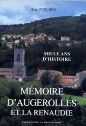 Mémoire d'Augerolles et La Renaudie - Intérieur - Format classique