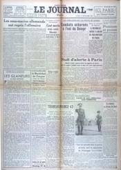 Journal (Le) N°18461 du 27/09/1943 - Couverture - Format classique