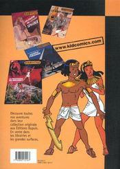 La Vengeance Des Ramses - 4ème de couverture - Format classique