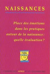 Cahiers De L'Afree - Intérieur - Format classique
