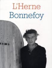 Les Cahiers De L'Herne ; Bonnefoy - Couverture - Format classique
