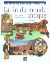 La Fin Du Monde Antique - Intérieur - Format classique