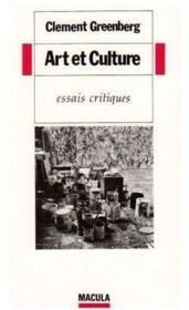 Art et culture ; essais et critiques - Couverture - Format classique