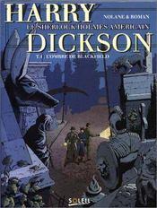 Harry dickson t.4 ; l'ombre de blackfield - Intérieur - Format classique