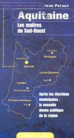Region Aquitaine - Couverture - Format classique
